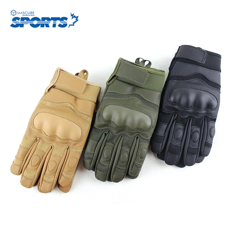 Sports Outdoor Bike Tactical Cycling Gloves Full Finger Men Sand Color Breathable Cycling Parts luvas para ciclismo(China (Mainland))