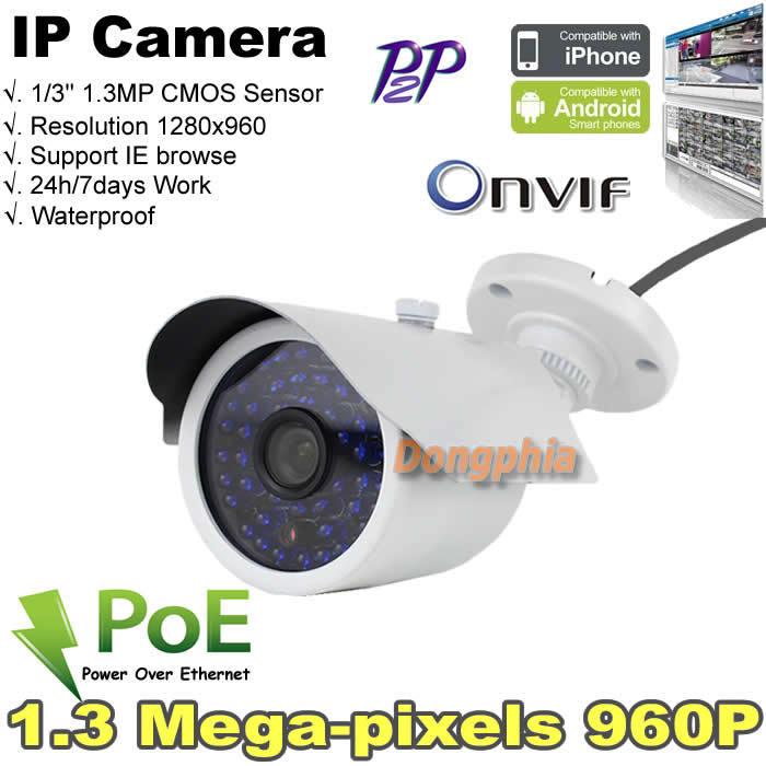 2015 NEW arrvial POE IP camera POE standard IEEE802.3af Standard ONVIF 3.6/ 6mm Optional waterproof metallic shell outdoor work(China (Mainland))
