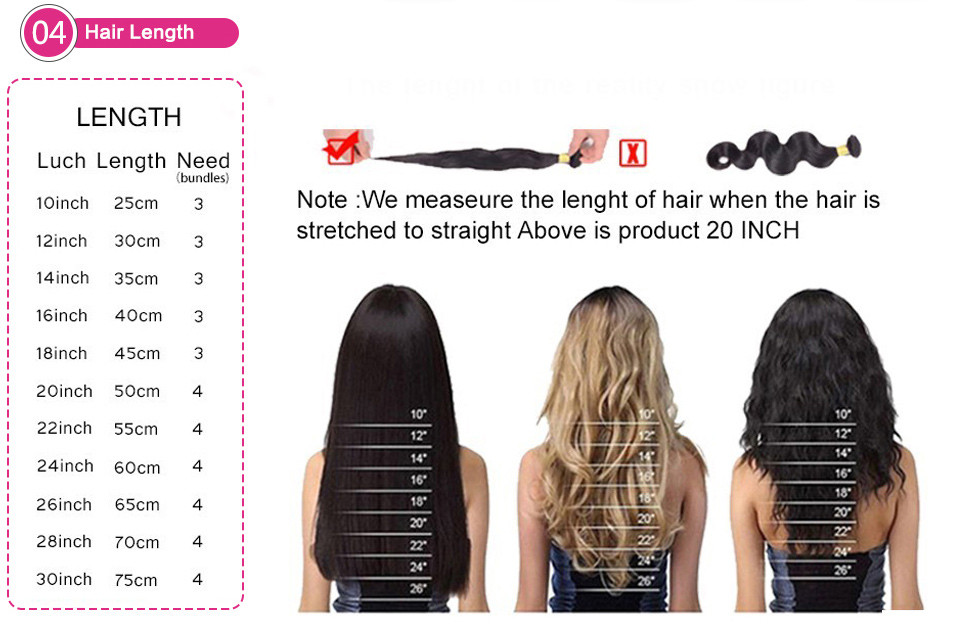 7A Brazilian Straight Virgin Hair With Lace Closure 4bundles Unprocessed Natural Color Straight Human Hair Extensions 8-32inch