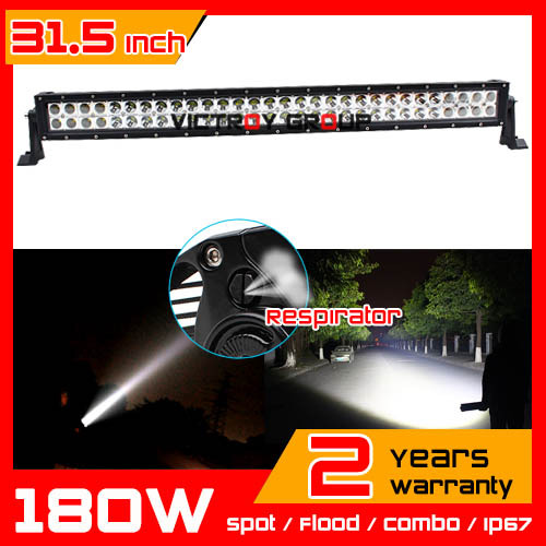 31.5 inch 180w LED Light Bar 12v 24v IP67 SUV Truck Tractor ATV Offroad Fog Worklight External Save 240w - Victory Group Asia Co.,Ltd store