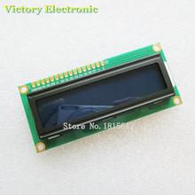 LCD1602 LCD monitor 1602 5V Blue Screen White Code Blacklight 16x2 Character LCD Display Module HD44780 1602A Wholesale(China (Mainland))