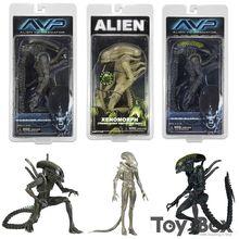 NECA Movie AVP Aliens vs Predator Series Grid Alien Xenomorph Translucent Prototype Suit Warrior Alien Toy PVC Figure Model Gift(China (Mainland))