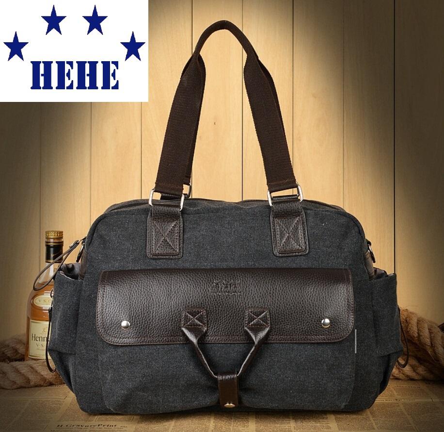 Vintage Large Capacity Canvas Travel Bags Luggage Sport Bag Men Military Duffle Bags For Male Malas Para Viagem Deep Grey qj100(China (Mainland))