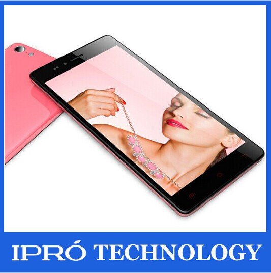 2015 NEW 5.5 inch android phone iPro Unlocked telefonos moviles smartphone Touch Phone Android 4.4 OS 2G/3G 2SIM/Dual-Bands(China (Mainland))