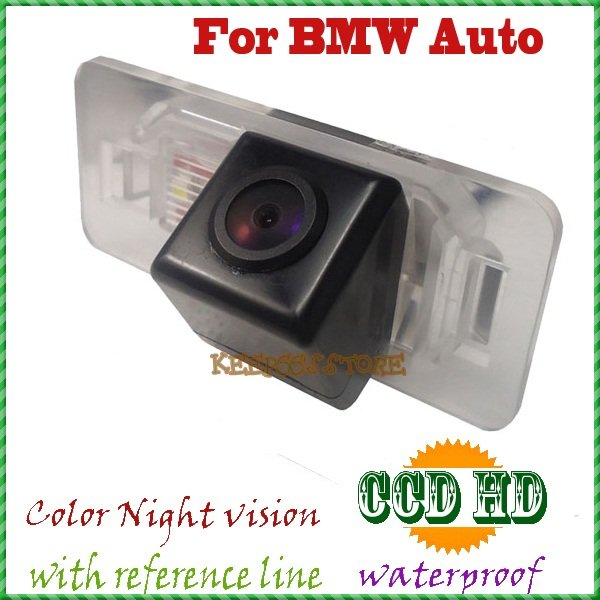 CCD night vision CAR REAR VIEW CAMERA parking camera rearview system reverse camera FOR BMW 1/3/5/6 Series X5 X6 E46 E53 E46(China (Mainland))