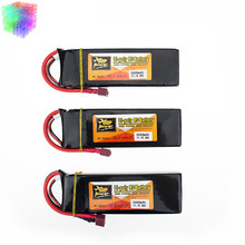 Lipo 3s 11.1v 5000mAh battery 30C ZOP XT60 or T plug 3pcs lithium batteries for RC Helicopter Airplane drone part wholesale