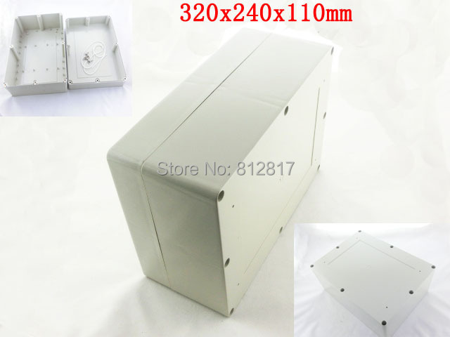 Waterproof Plastic Sealed Enclosure Case Junction Box 320x240x110mm <br><br>Aliexpress