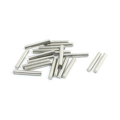 20Pcs Stainless Steel 20mm x 3mm Round Rod Stock for RC Airplane Model(China (Mainland))