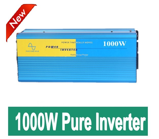 DHL Or Fedex Free shipping Factory sale 1000W pure sine wave solar inverter dc 24v to ac 220v<br><br>Aliexpress