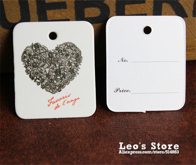 Customized hanging tags,garment labels tag,T-shirt tags,OEM paper swing labels,free hole punch+1000 tag string,LGT-24(China (Mainland))