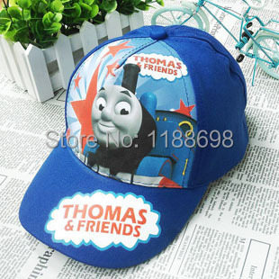 Cartoon Thomas and Friends Kids Baseball Cap Hats Adjustable Children Snapback Hat Sports Caps Outlet Cheap Top Quality(China (Mainland))