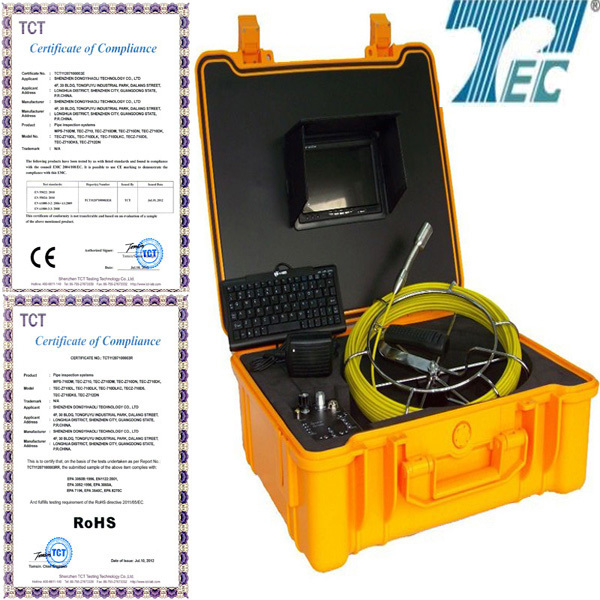 20m Z710DLK Underground pipe camera inspection for security system with 512hz transmitter(China (Mainland))