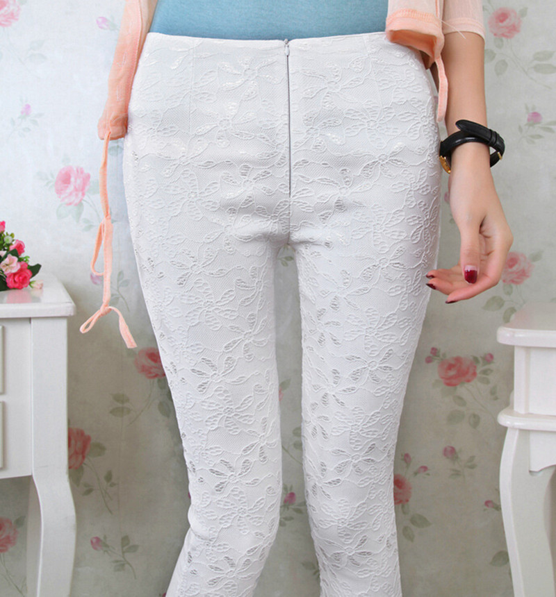 Promotion !! Spring fashion 2015 women's Korea edition of the new bud silk pants leisure pencil pants ,plus size leggings(China (Mainland))