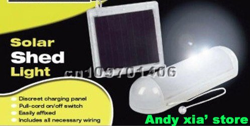 solar indoor shed led light solar powered indoor lamp 5led