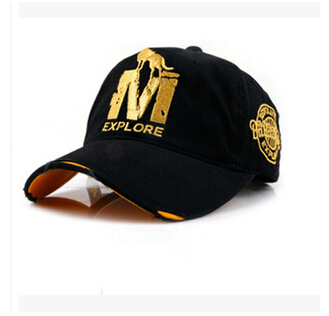 Summer M wolf letter Korean students hip-hop hat tide products wholesale peaked cap(China (Mainland))