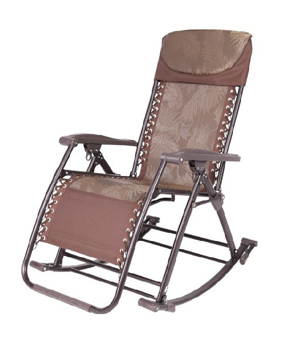 Multifunctional rocking chair recliner health wisdom chair folding lounge cha