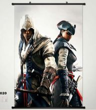 Assassin's creed unity Home Decor Game Poster Wall Scroll Cosplay 020 Anime