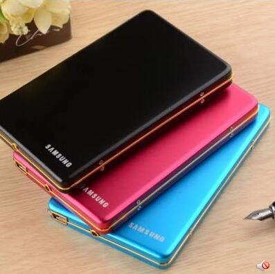 1TB 2TB Hard Drive Slim HDD 2.5'' USB2.0 Mobile External Desktop and Laptop Portable Disk Plug and Play Free Shipping(China (Mainland))
