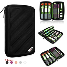BUBM Brand EVA Digital Accessories Storage Bag,Hard Case For Tablet,Put Drive Disk Cables USB Flash Power Bank,Free Shipping(China (Mainland))