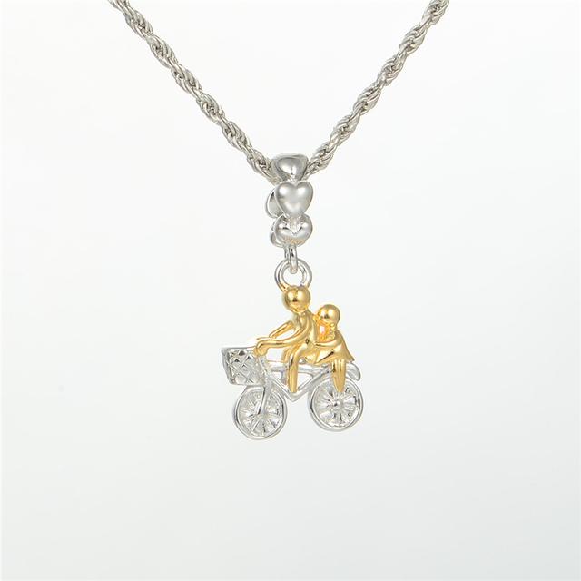 Стерлингового серебра 925 пробы украшения золотой любовник на цикл бусины DIY стерлингов - серебристо-ювелирные подходит европейским очаровывает браслеты