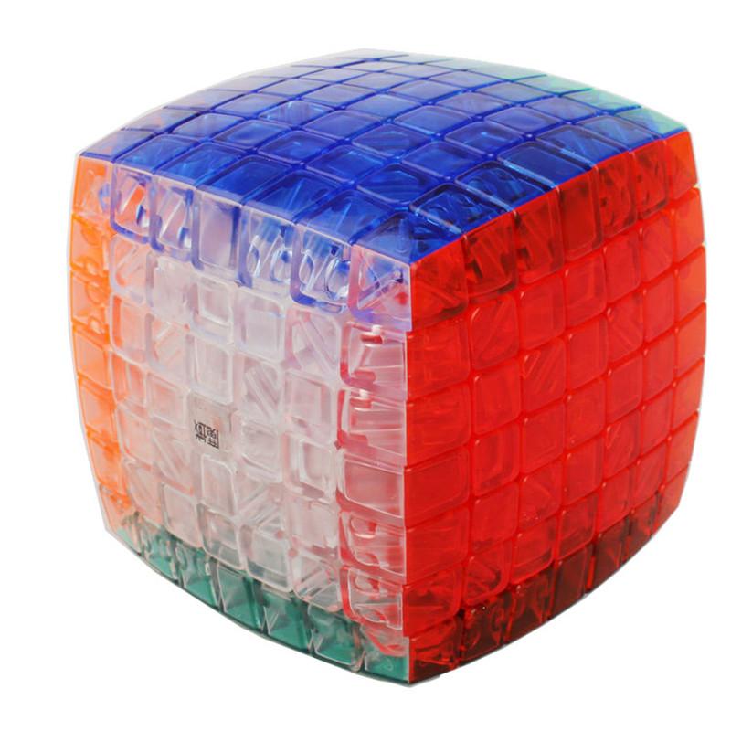 New Moyu Aofu 7x7 Cubo Magico Stickerless Moyu 7x7x7 Puzzle & YJ Ao Fu 7x7x7 Magic Cube Educational Toy(China (Mainland))