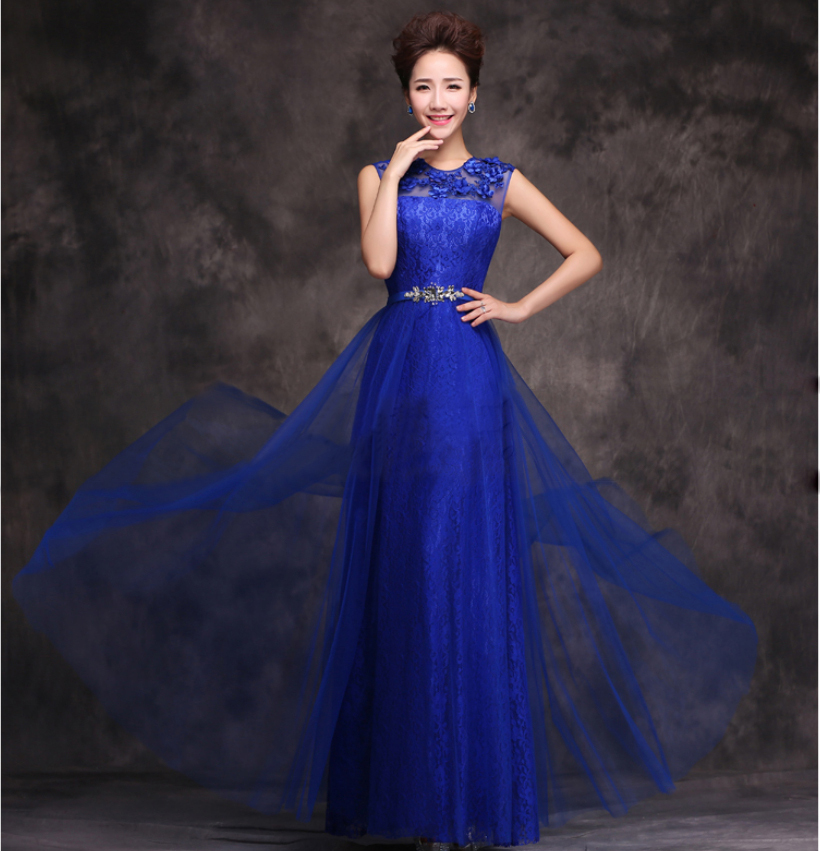 Floor length chiffon long straight evening dress gown for Long straight wedding dresses