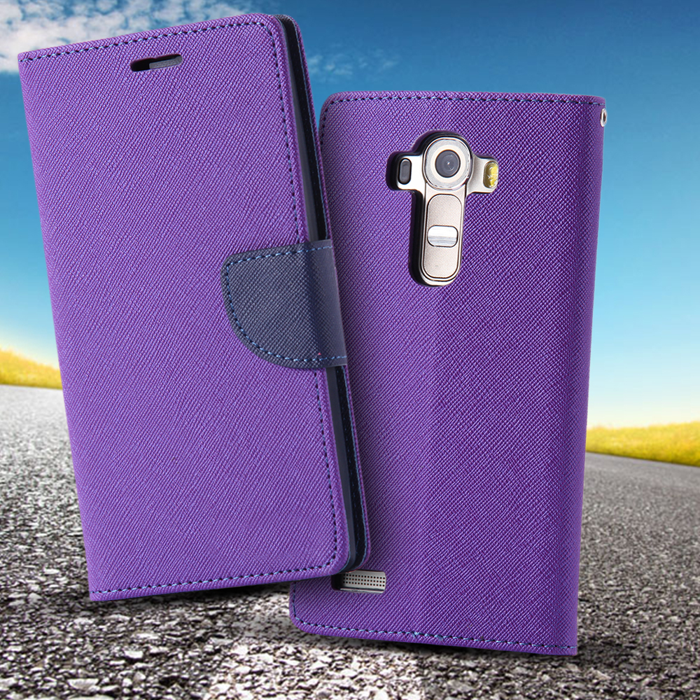 100Pcs/Lot DHL G4 PU Flip Leather Case For LG G4 Wallet Book Style Cover Stand Holder Phone Bag with Card Slot For G4 Wholesale