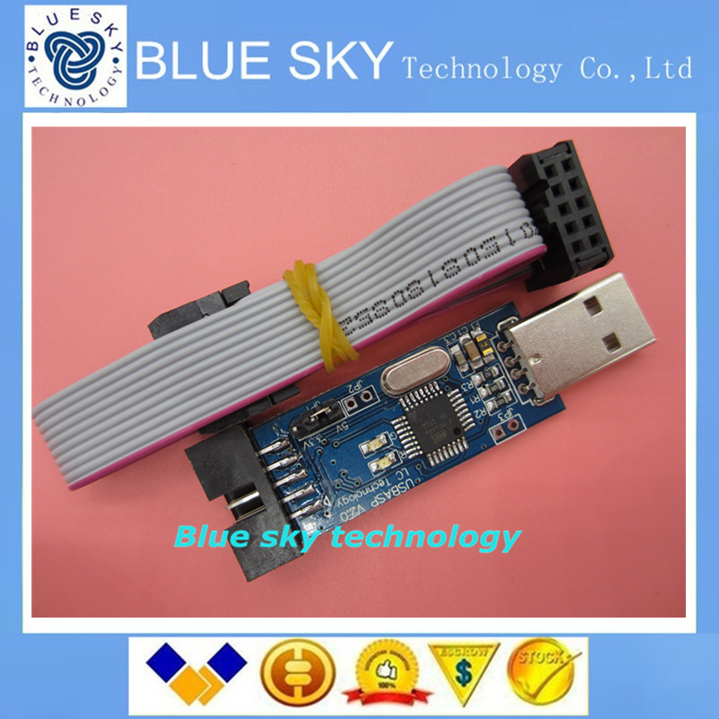 USB ISP Programmer for ATMEL AVR ATMega ATTiny 51 AVR Board ISP Downloader FZ0151 Free Shipping Dropshipping(China (Mainland))