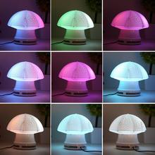 2015 Hot Mini Cute LED Light Desk Umbrella Speaker Music Player Decoration Lamp(China (Mainland))