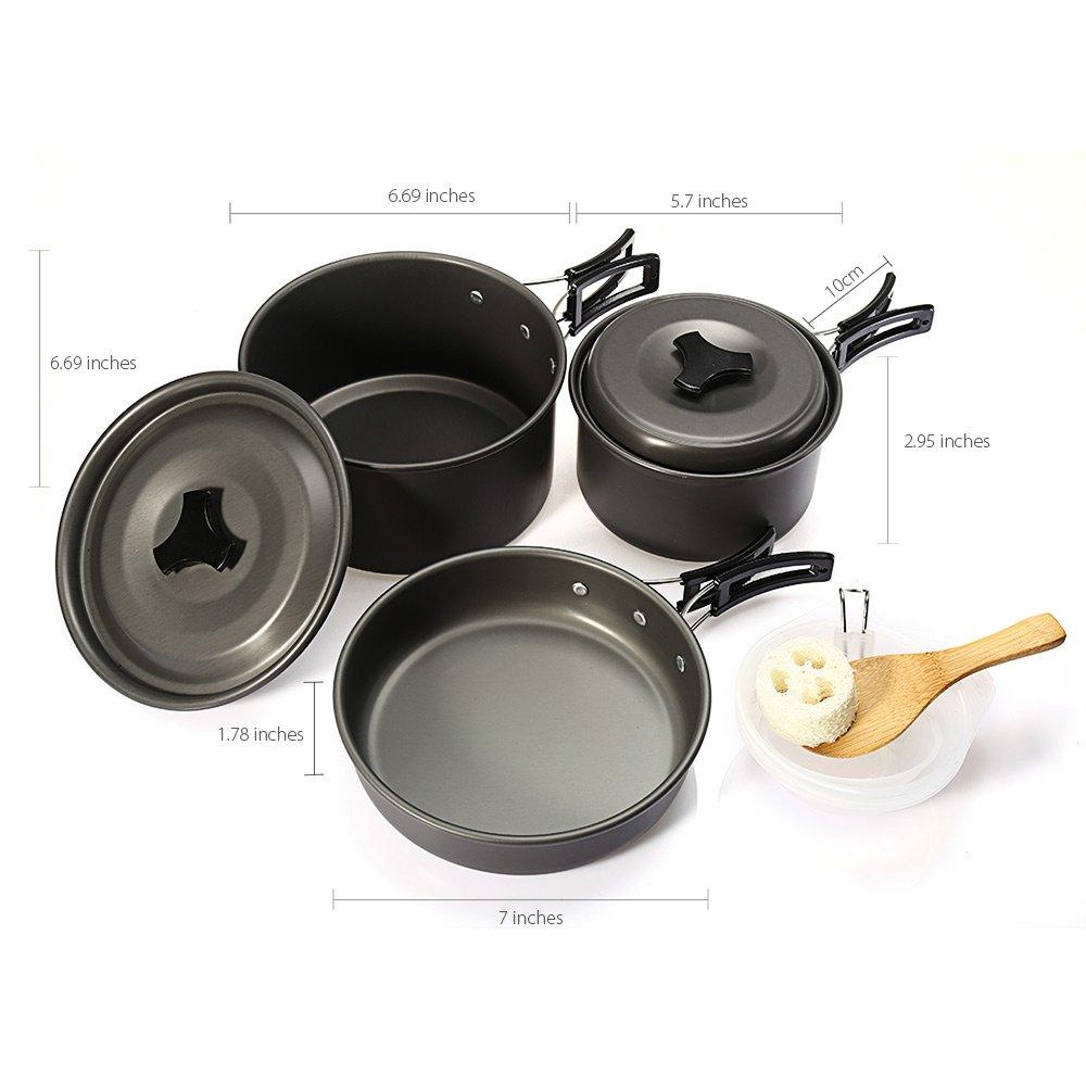 Compra vajilla de aluminio online al por mayor de china for Utensilios de cocina de aluminio