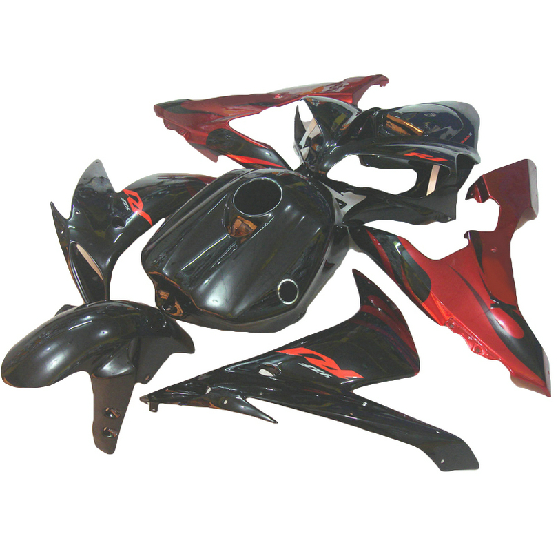 Motorcycle fairing fit for YZF1000 2005 2004 2006 Red flames YAMAHA R1 04 05 06 YZF R1 fairings ABS xl31(China (Mainland))
