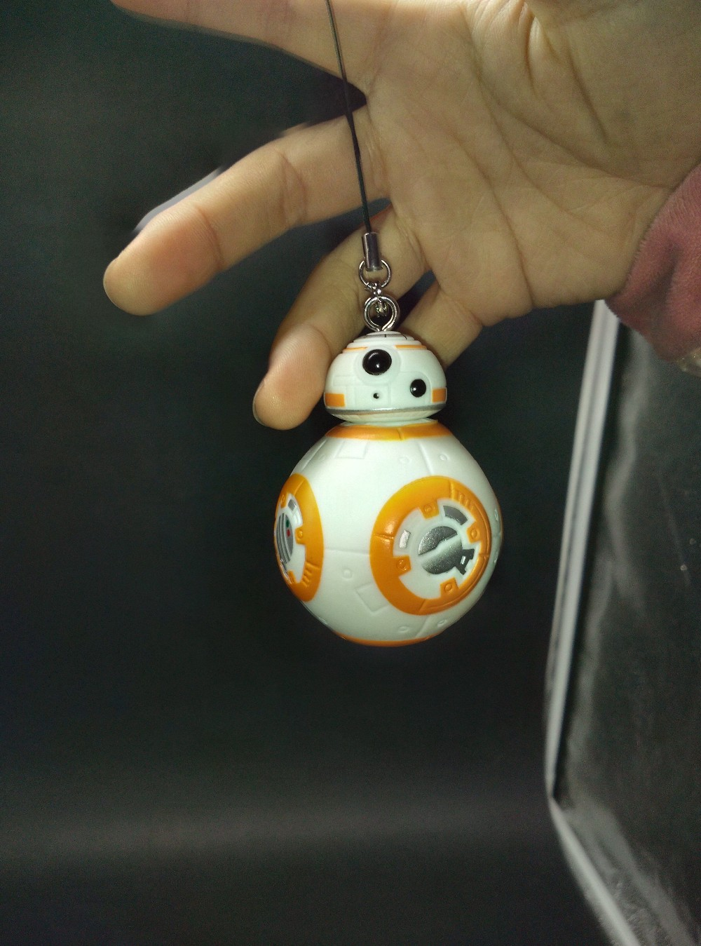 Free shipping New 1pc 2 6inch Star Wars VII The Force Awakens BB8 BB 8 Droid