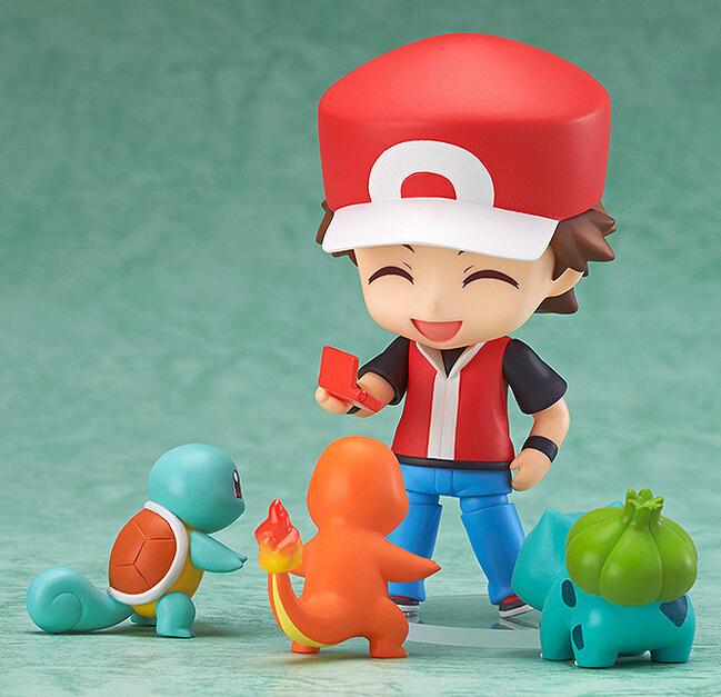 NEW hot 10CM 4pcs/set Ash Ketchum Pikachu action figure toys Christmas gift collectors(China (Mainland))