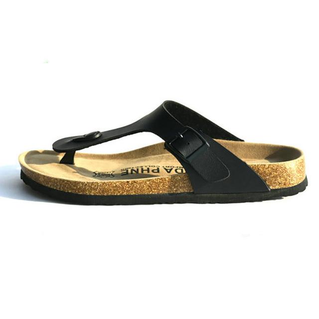 Большой размер 5 - 11 летний стиль обувь женщина сандалии пробки тапочки Высокое ...