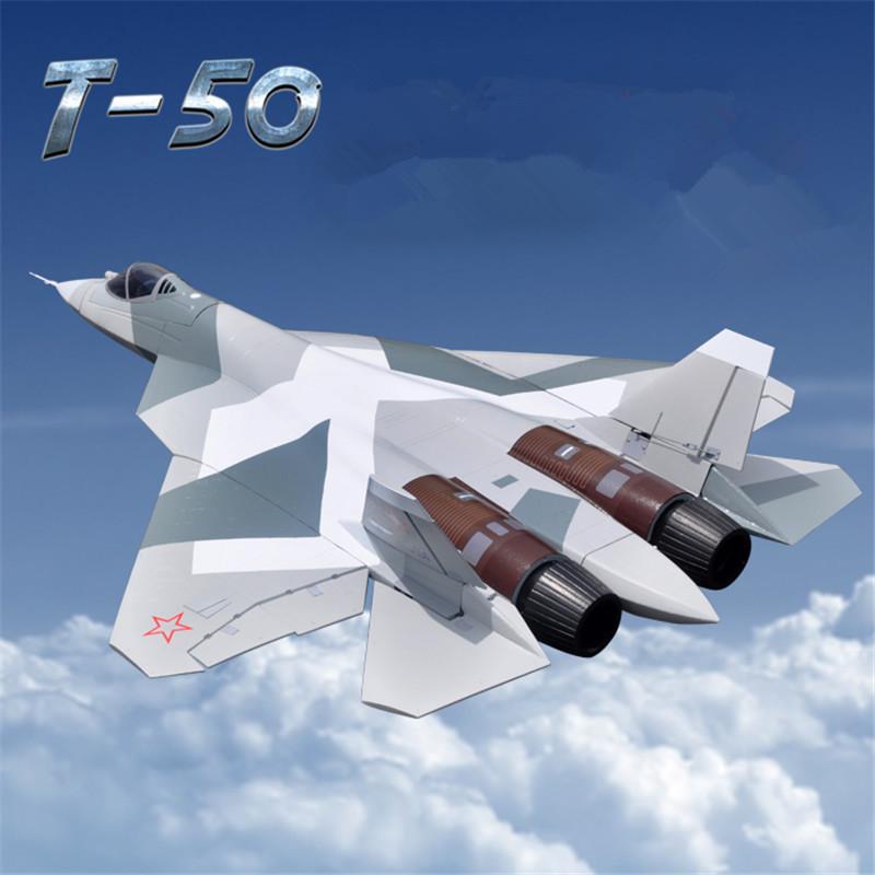 Double 70 mm EDF 12CH rc model airplane T50 rc plane epo foam aviones rc aeromodelismo rc plane rtf remote control airplanes(China (Mainland))