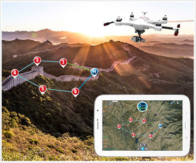 Walkera Scout X4 with DEVO F12E GPS FPV RC Quadcopter RTF 5.8GHz for Gopro 3