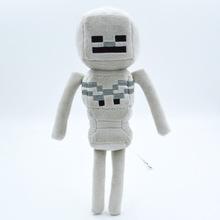 1Piece/lot Minecraft Plush Skeleton Zombie Doll Toys For Children,Minecraft Skeleton Plush Doll Toys(China (Mainland))