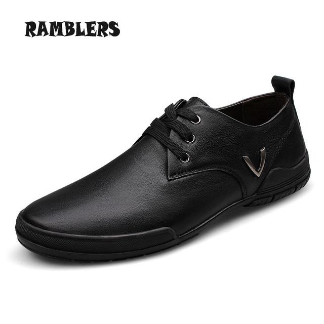 Размер 14 натуральной кожи квартиры обувь для мужчин мокасины дышащий деловой человек ...