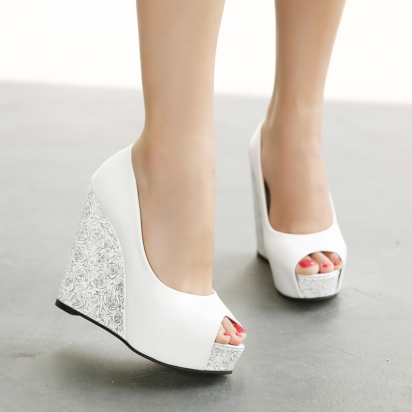 hot sale Ladies Shoes 2015 High Heels Women&39s Open Toe Pumps