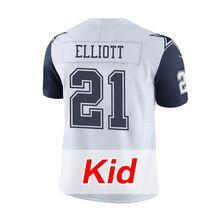 Kids Youth #4 Dak Prescott White Color #21 Ezekiel Elliott Rush Limited #88 Dez Bryant Witten #82 Jason Witten Jerseys Men's(China (Mainland))