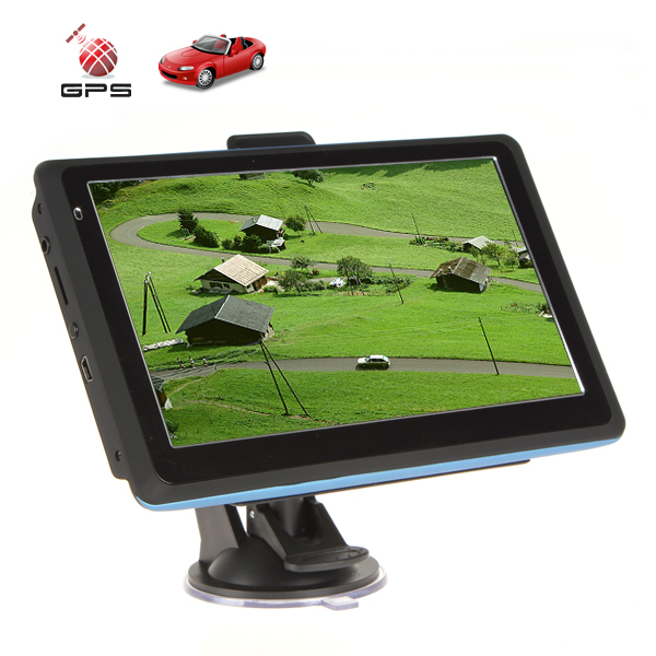 Hot Sale 713F TFT LCD Touch Screen Auto Car GPS Navigation 7'' Vehicle GPS Navigator System with MP3 MP4 AV IN 4GB(China (Mainland))