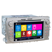 2 Din In dash Car CD DVD Radio for FORD FOCUS 2 MONDEO S-MAX CONNECT 2008 2009 2010 2011 2012 2013 2014 RDS TV Ipod Free Maps