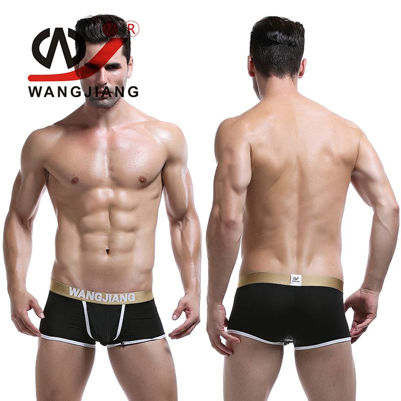 WJ Brand Clothing Calzoncillos Hombre Boxer Marca Male Underwear Cueca Boxer Shorts Slip Homme Spandex Men'S Underwear Boxer(China (Mainland))