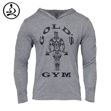 Mens Golds Gym Hoodies Bodybuilding Sweatshirt Men 2015 Sports Suit Long Sleeve Tracksuit Cotton Supreme GASP Pullover Bape Top(China (Mainland))