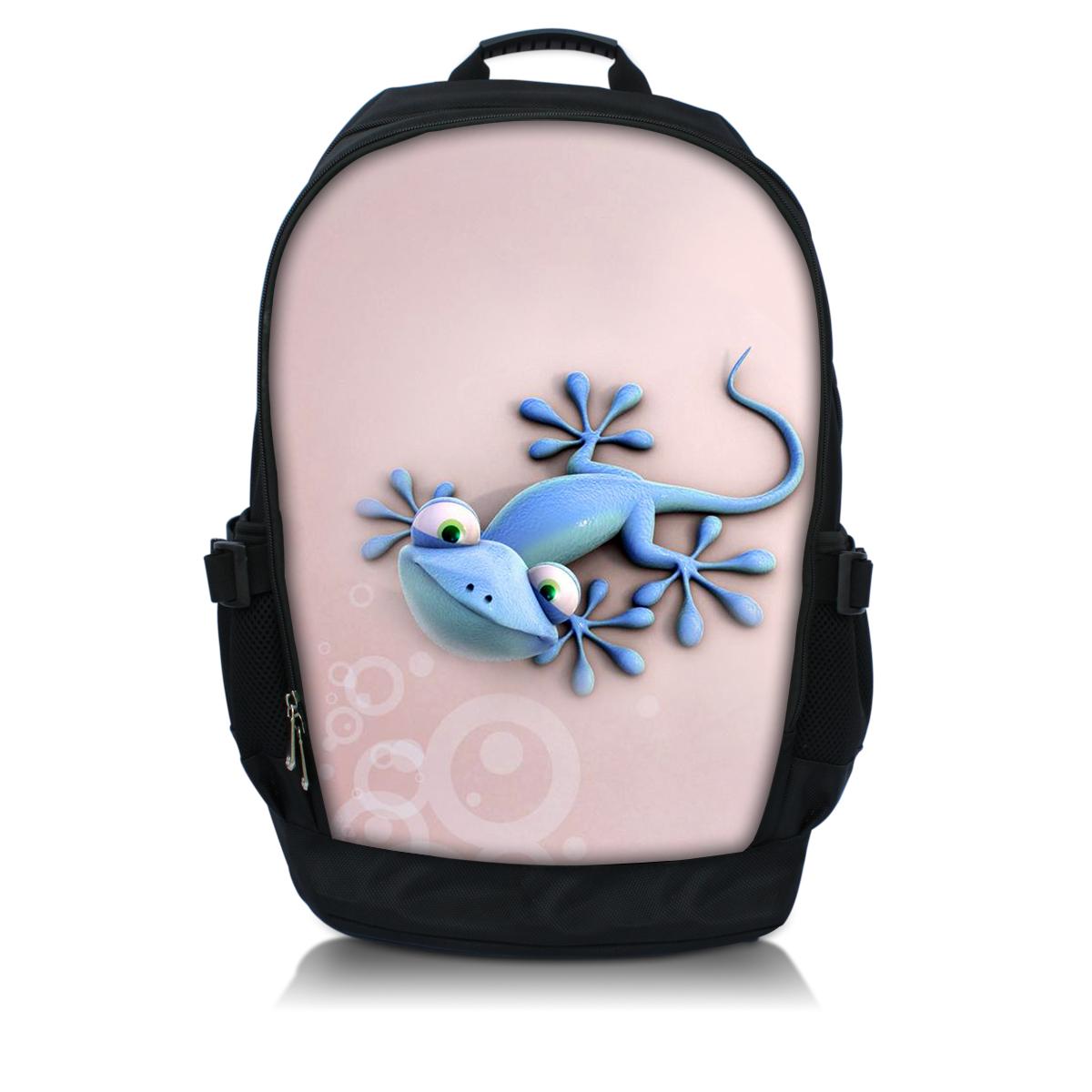 """Pink Lizard 15"""" 15.6"""" Laptop Backpack Computer Notebook School Travel Bag Shoulder Bag Case(China (Mainland))"""