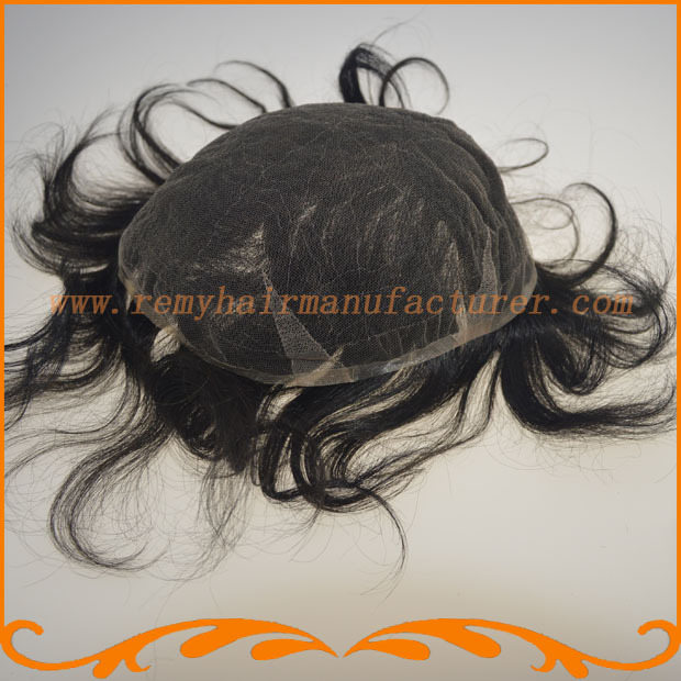 New arrival,100% Indian hair, full Swiss lace hair, mens wigs,bleach knots,men toupee, remy hair,free shipping,DHL,Fedex(China (Mainland))
