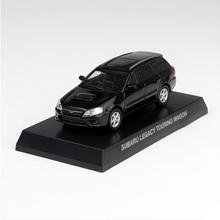 Freeshipping,Kyosho 1/64 Diecast Model Subaru LEGACY TOURING WAGON Black