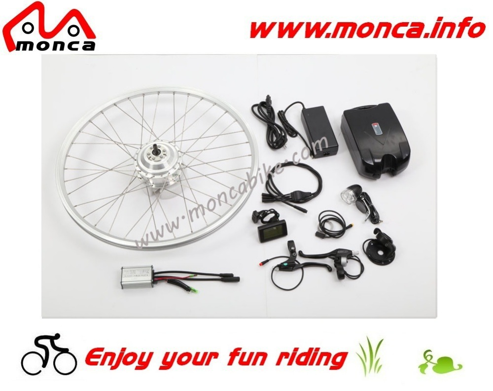 36V 10A Li-Ion Battery Electric Bike Kits 250W Gear Hub Motor /14KG For Gross Weight CE Approval/Wheel Size Optional(China (Mainland))