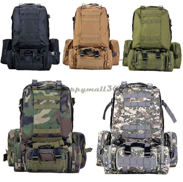 2015 Hot Sale Men Women Outdoor Military Army Tactical Backpack Molle Camping Hiking Trekking Sport Camouflage Bag US51(China (Mainland))