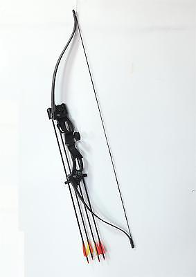 Xmas Gift Toy Bow Children Kids Archery Training Hunting Bow Protector Arrow